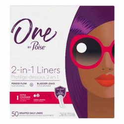 Free Poise Liners or Thin Pads