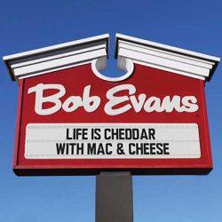 Free Mac & Cheese at Bob Evans