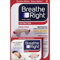Free Breathe Right Extra Strength Tan Strips