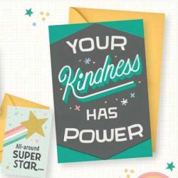 Free Hallmark Little World Changers Card Pack