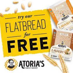 Free Atoria's Flatbread Coupon