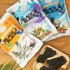 Free Black & Black Seaweed Snack from 08liter